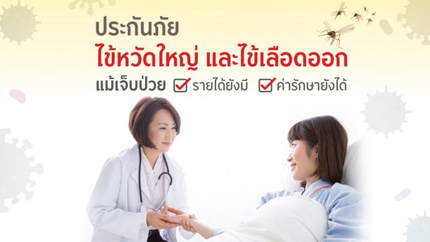 ประกันไข้หวัดใหญ่และไข้เลือดออก